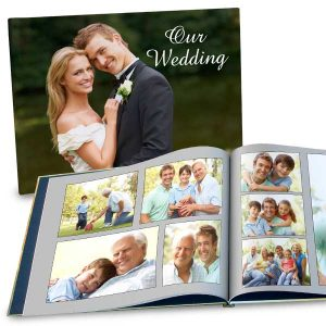 Create a custom coffee table book for your favorite photos with a large 11x14 hardcover book