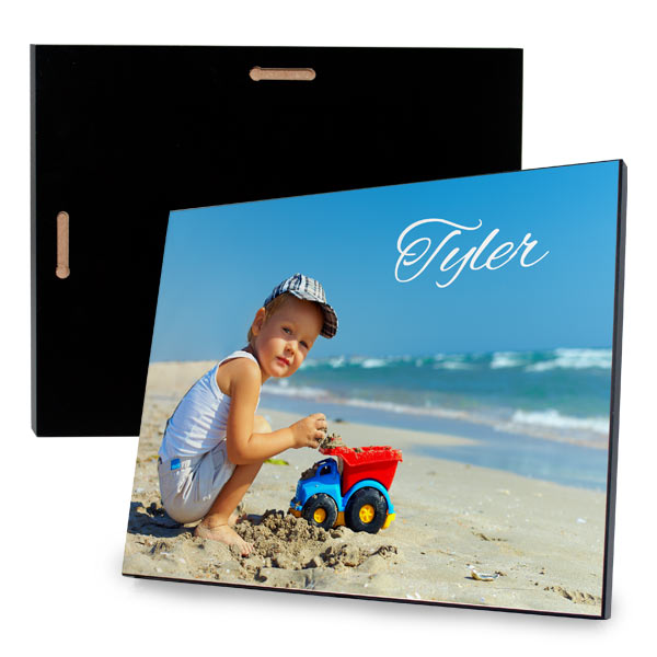 Turn your photo into a piece of wall art with Print Shop Lab Glossy Photo Panels
