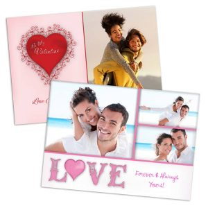 Create a personalized valentines greeting perfect for the one you love on Valentines day