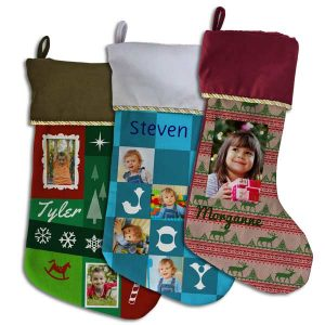 Create your own designer photo stocking with Print Shop Lab
