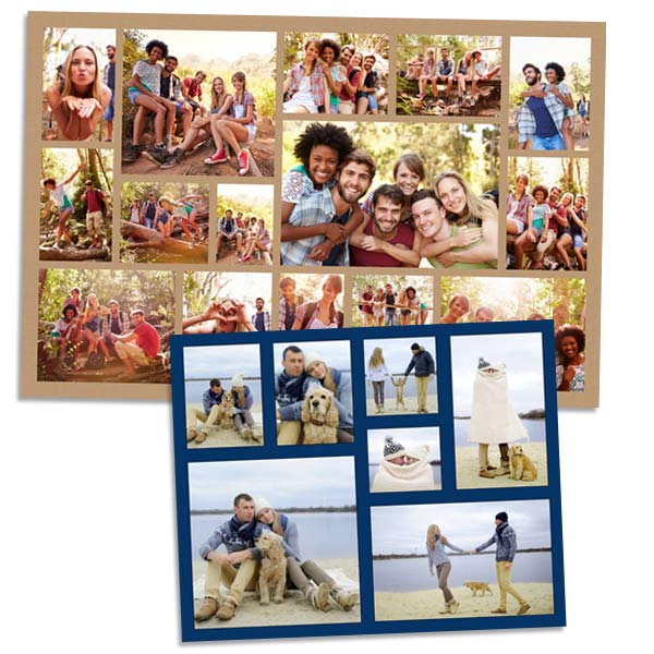 Create a photo collage of you and your friends or you and your significant other