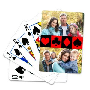 Using your own photo or up to 4 photos, create your own deck of playing cards, which makes the perfect gift or stocking stuffer