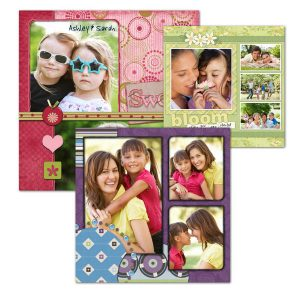 Create pages for your scrapbook using our online digital builder, scrapbook prints are easy