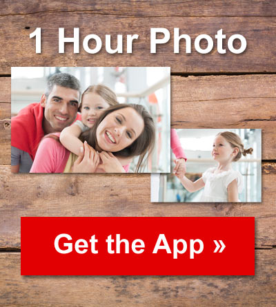 Pick up your prints in 1 Hour with our 1 Hour Photo App