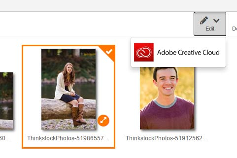 Edit photos with Adobe or PicMonkey