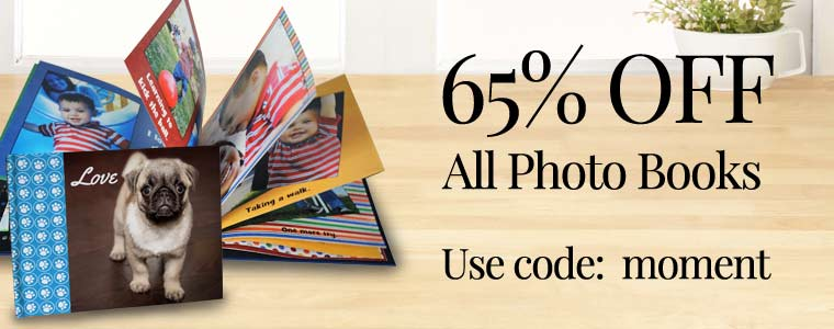 Custom photo books on sale now, shop and save