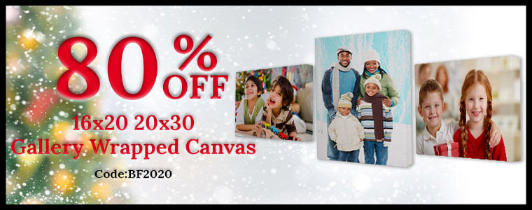 Print your photo on canvas black Friday Canvas sale