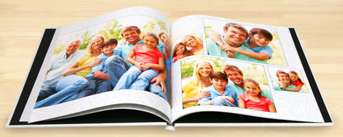 Create your own photo book with personalized photo hard cover