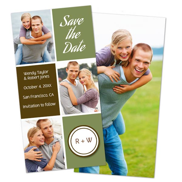 Send your holiday photo card to family and share more photos with RitzPix double sided cards