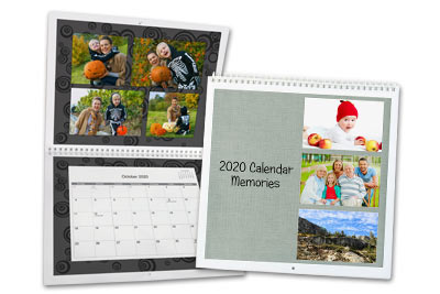 Custom photo calendars for 2018 make the perfect gift!