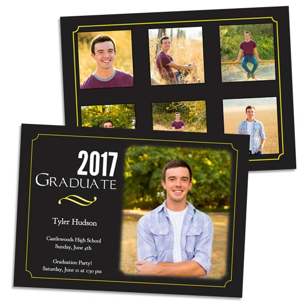 Create personalized greeting cards for any occasion with 5x7 double sided stock cards