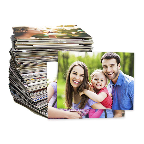 4x6 photo prints available on glossy or matte photo paper