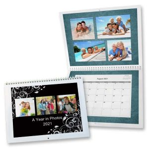 Create your own calendar for 2021 and fill it with pictures and special dates