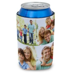 Create your own custom can koozie to keep your drink cool on hot days