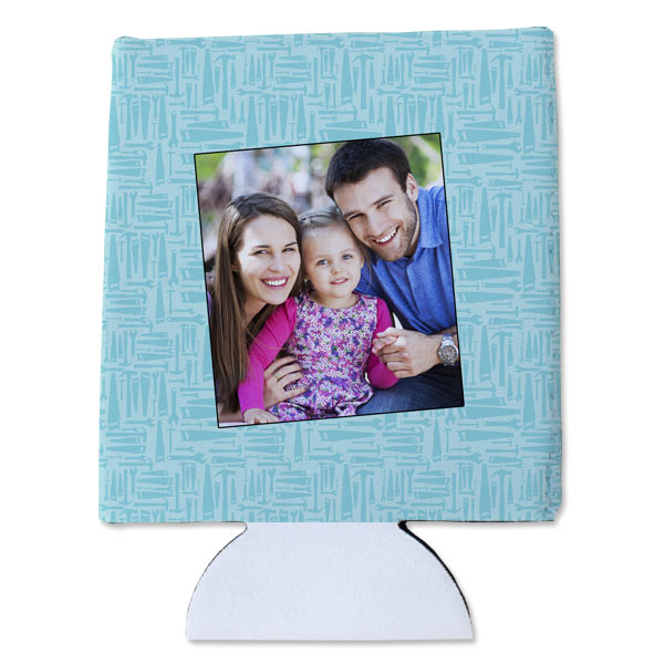 Personalized can kozy is perfect for a gift and compact to store anywhere