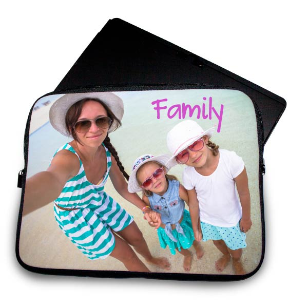 Turn your favorite selfie into a protective laptop sleeve for your computer