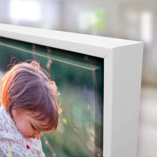 Show off a favorite photo in elegance with our canvas floating frame wall art.