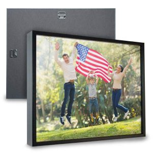 Create a beautiful framed canvas print using your own photos