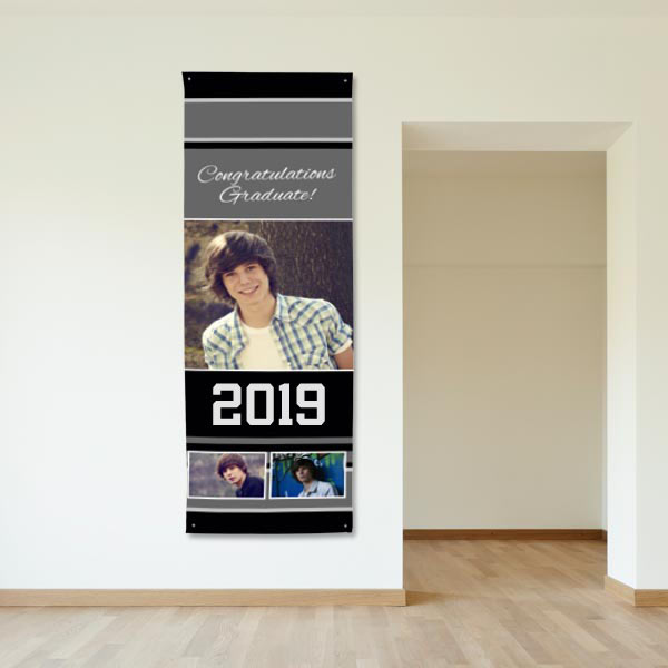 Grommet Vinyl banners are available with both horizontal and vertical orientations so you can create for any use