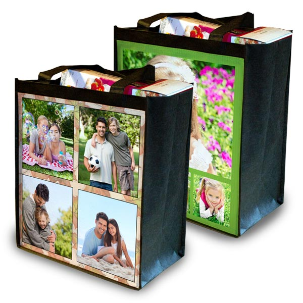 Create a grocery bag to suit your style and carry your items while shopping