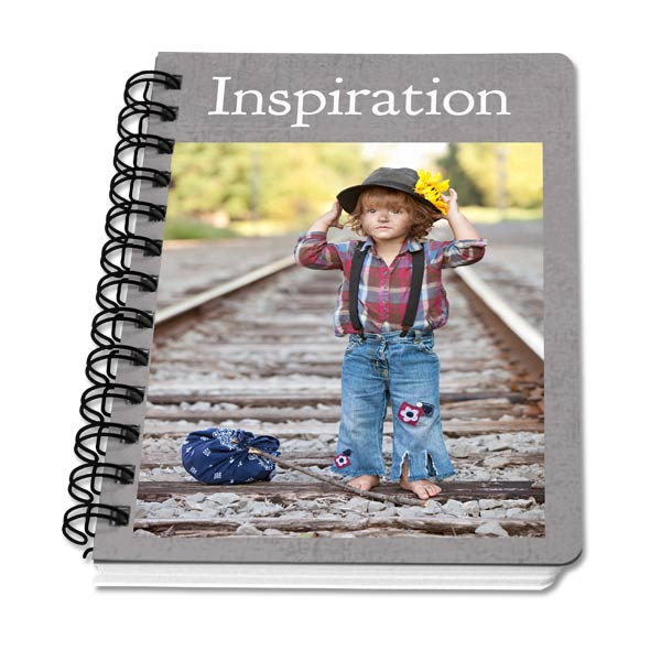 Create your own 5x7 notebook using photos and text so you can ensure you will love your notebook