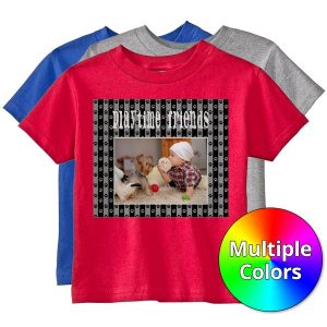 Create your own team shirts with RitzPix Toddler and Youth size Personalized T-Shirts