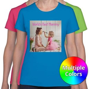 Create a custom t-shirt for mom with womens t-shirts from RitzPix