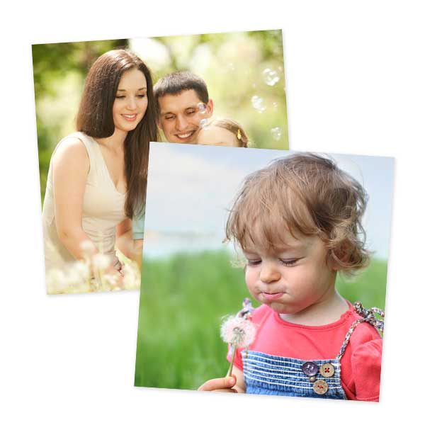 Create 8x8 photo print enlargements with RitzPix 8x8 prints