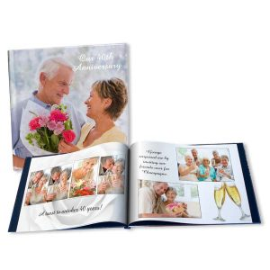 Create your own Anniversary photo book with RitzPix