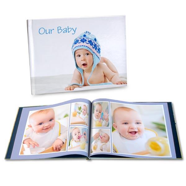 Custom Photo Baby Book with pictures and custom text