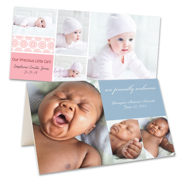 Create your own Photo Birth Announcements and cards with RitzPix