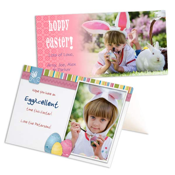 Create custom cards for Easter with RitzPix Personalized Easter Cards