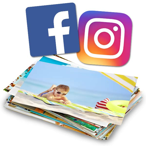 Create prints from photos stored in your Facebook and Instagram accounts with RitzPix