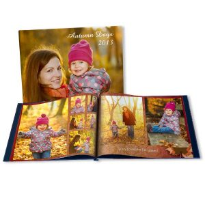 Save the beauty of Autumn in a professionally printed fall photo book