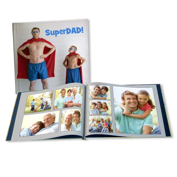 Create a photo book for dad, the perfect Father's day gift