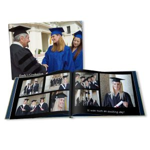 Create a personalized photo book for your graduating student