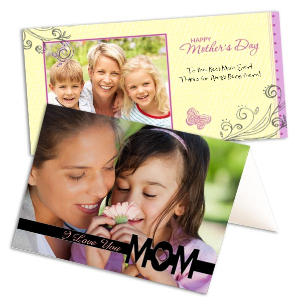 Create a custom card for Mom to show you care for Mother's Day