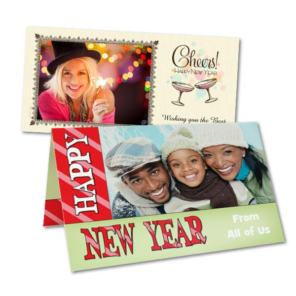 Send your own celebration by mail wishing those the best for New Years