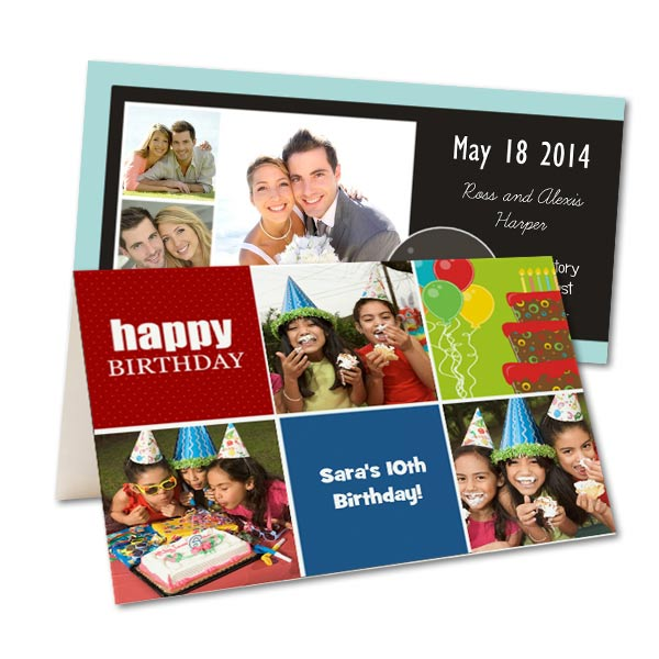 Create your own Party Invitations and Announcements with RitzPix Custom Invitations