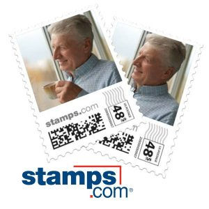 Create our own photo stamps with RitzPix Custom Mailing stamps