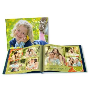 Celebrate spring and remember all your spring time photos in a personalized photo book by RitzPix