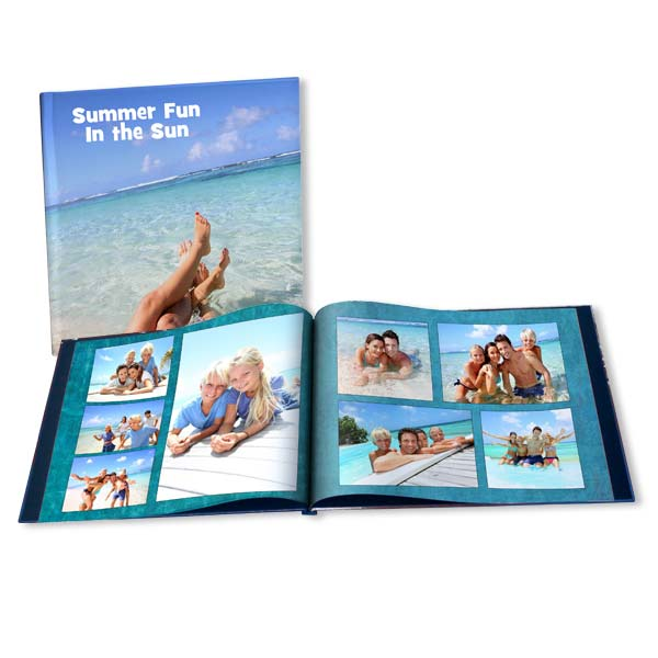 Remember your summer with personalized picture memory books of your summer photos