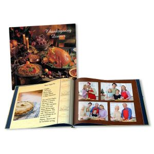 Create your own Cook Book, Family recipe and cook book for Thanksgiving
