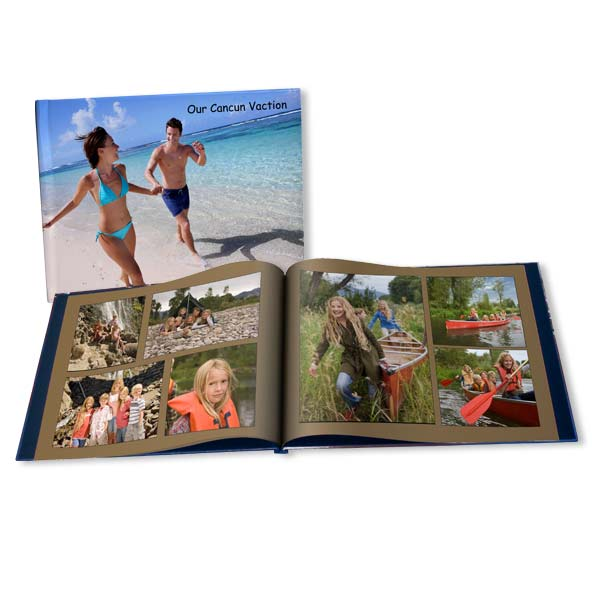 Save your vacation memories in a photo book you can share with others