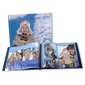 Save your Winter photos in a personalized winter photo book