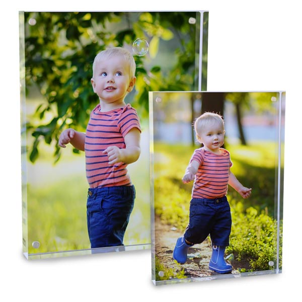 Turn your photo into a modern piece of art with Acrylic block prints