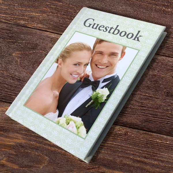 Create a hardcover journal, recipe book, guestbook or notebook for any occasion