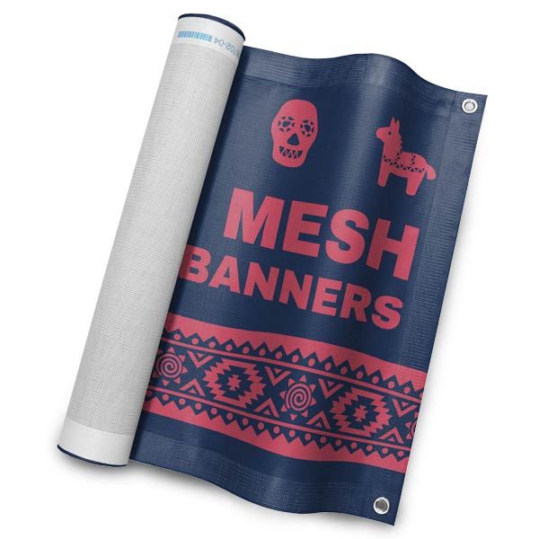 Create a Mesh Vinyl banner for your business with RitzPix