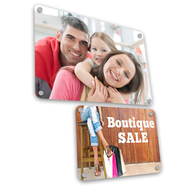 Custom aluminum prints and signs for your business and home