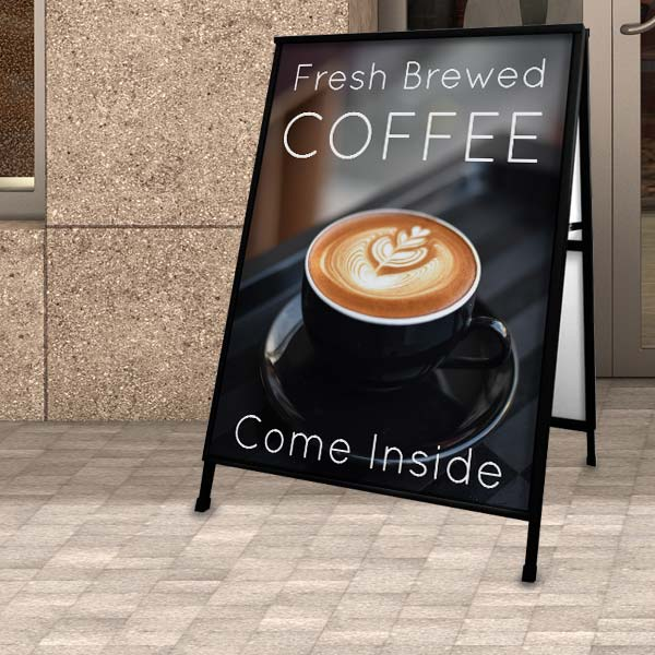 Ritzpix business products offer outdoor sidewalk signs to market your business